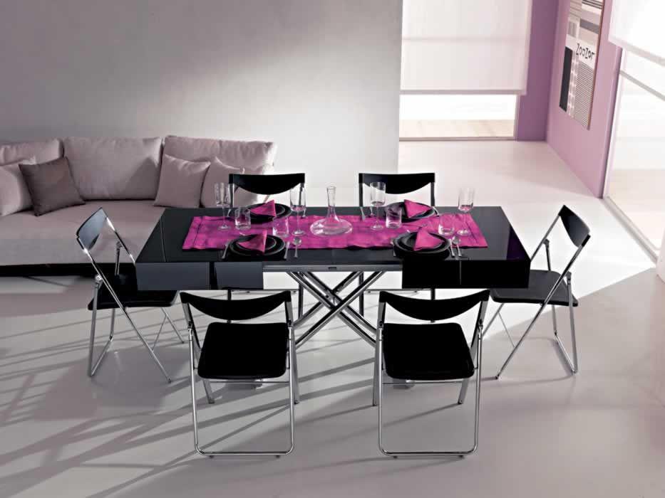 Tavoli trasformabili e allungabili, sedie moderne, sgabelli design ...