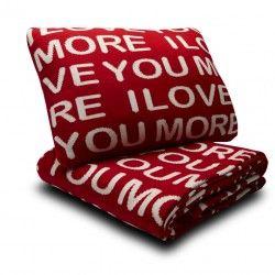 I love you more blanket