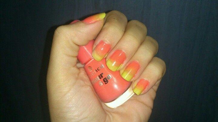 Gradiente de uñas!