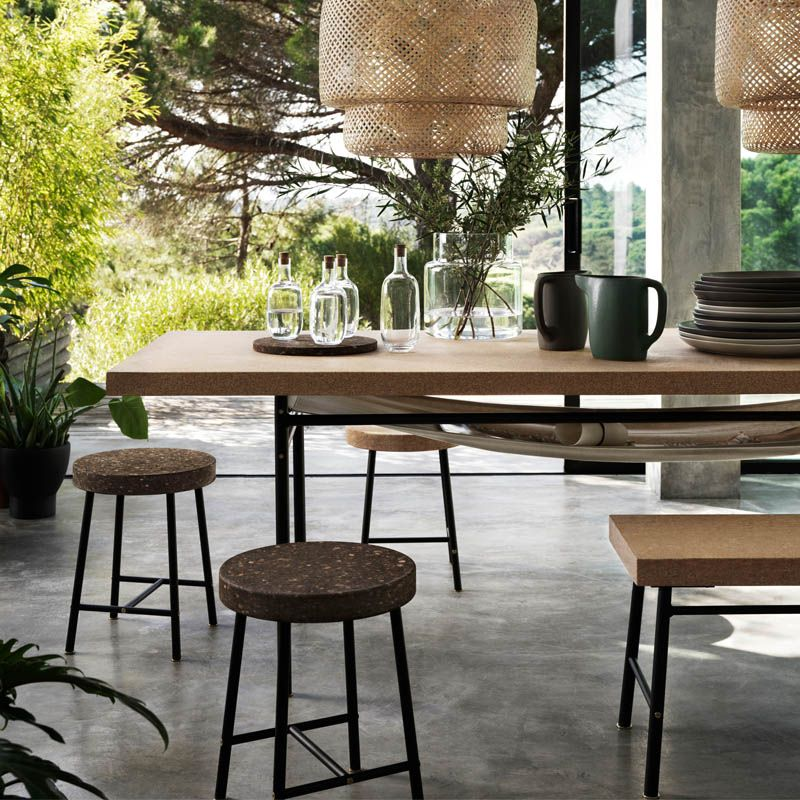 use of cork in the sinnerlig collection | ikea today – welcome to