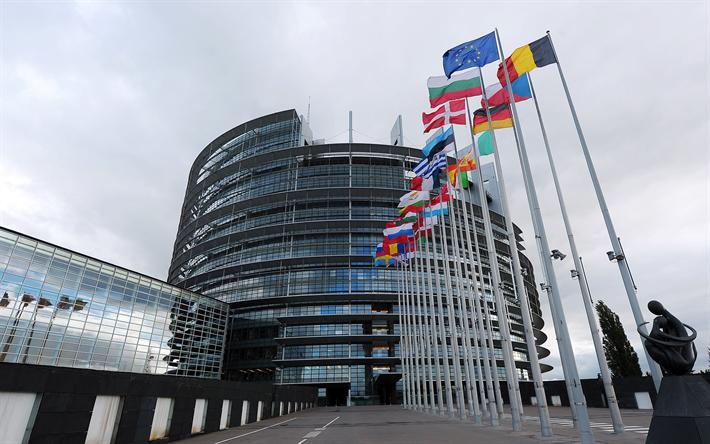 t l charger fonds d 39 cran parlement europ en bruxelles belgique 4k b timent moderne de l. Black Bedroom Furniture Sets. Home Design Ideas