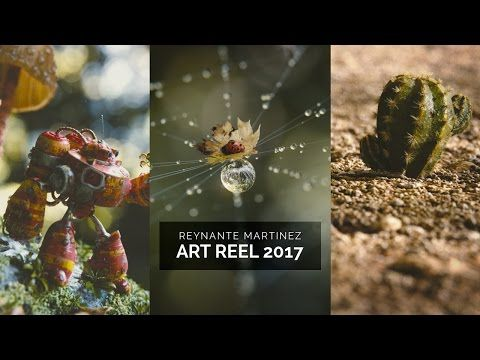 Reel: Reynante Martinez 2017 - BlenderNation