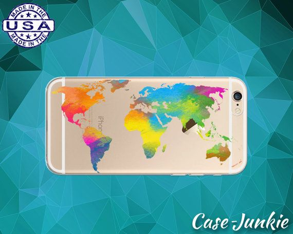 World map watercolor clear case rainbow paint tumblr iphone 6 iphone world map watercolor clear case rainbow paint tumblr iphone 6 iphone 6 iphone 6s iphone 6s plus iphone se iphone 7 plus iphone 8 gumiabroncs Choice Image
