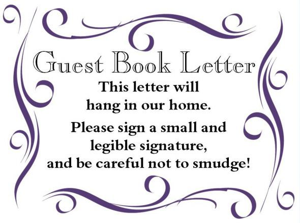 Sign For Wedding Guest Book Wooden Letter Art And Soul Pinterest