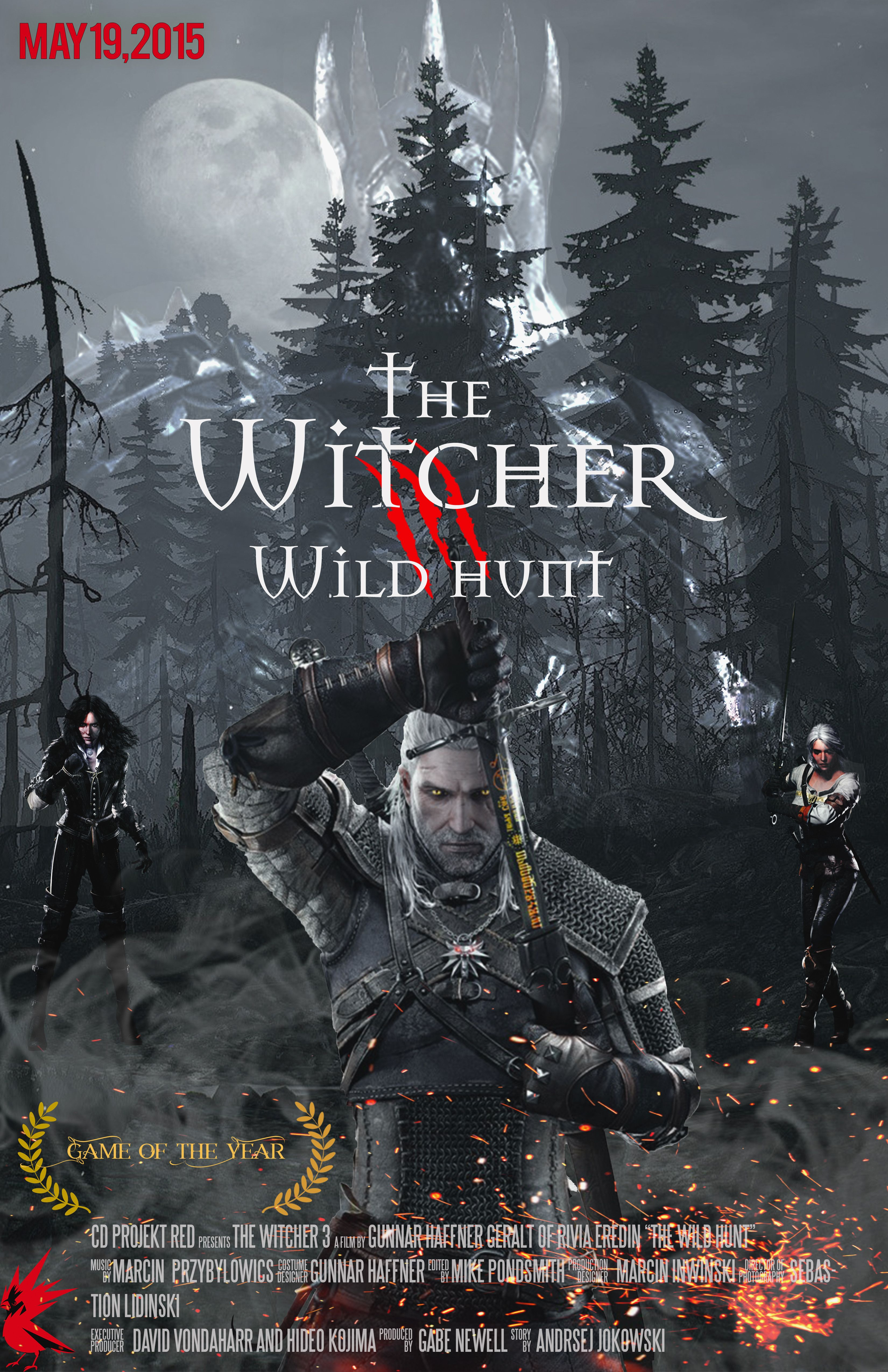 Fan Made Witcher Poster TheWitcher3 PS4 WILDHUNT PS4share Games Gaming TheWitcher TheWitcher3WildHunt