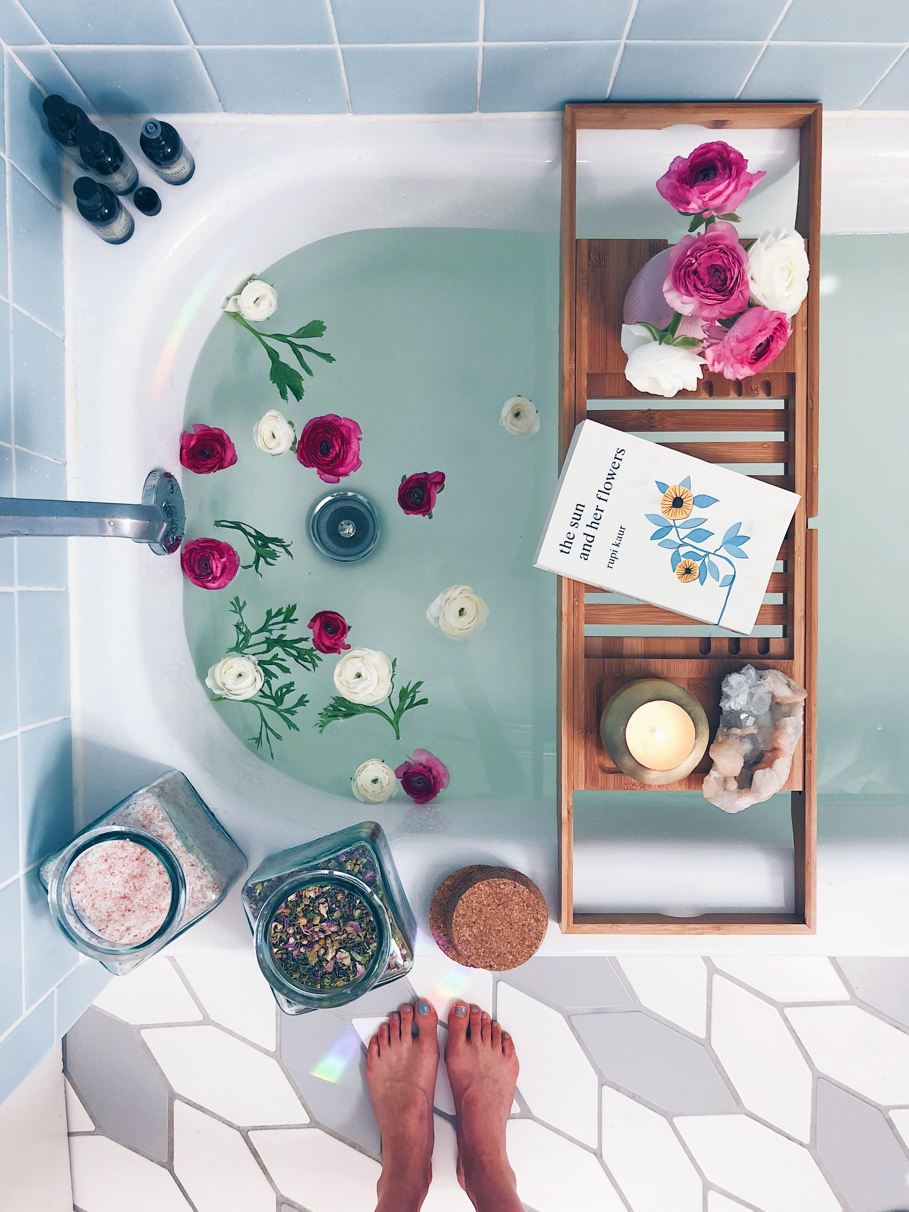 Bath Rituals + My Go-To Bath Salt Blend + Body Oil Recipes | Bath ...