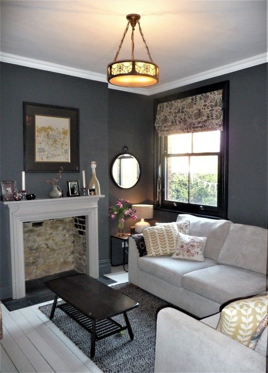 Snug Tv Room With Handmade Blind And Cushions Cozy