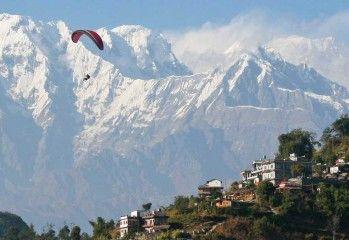 One of the pioneers of Paragliding in Nepal, Frontiers Paragliding