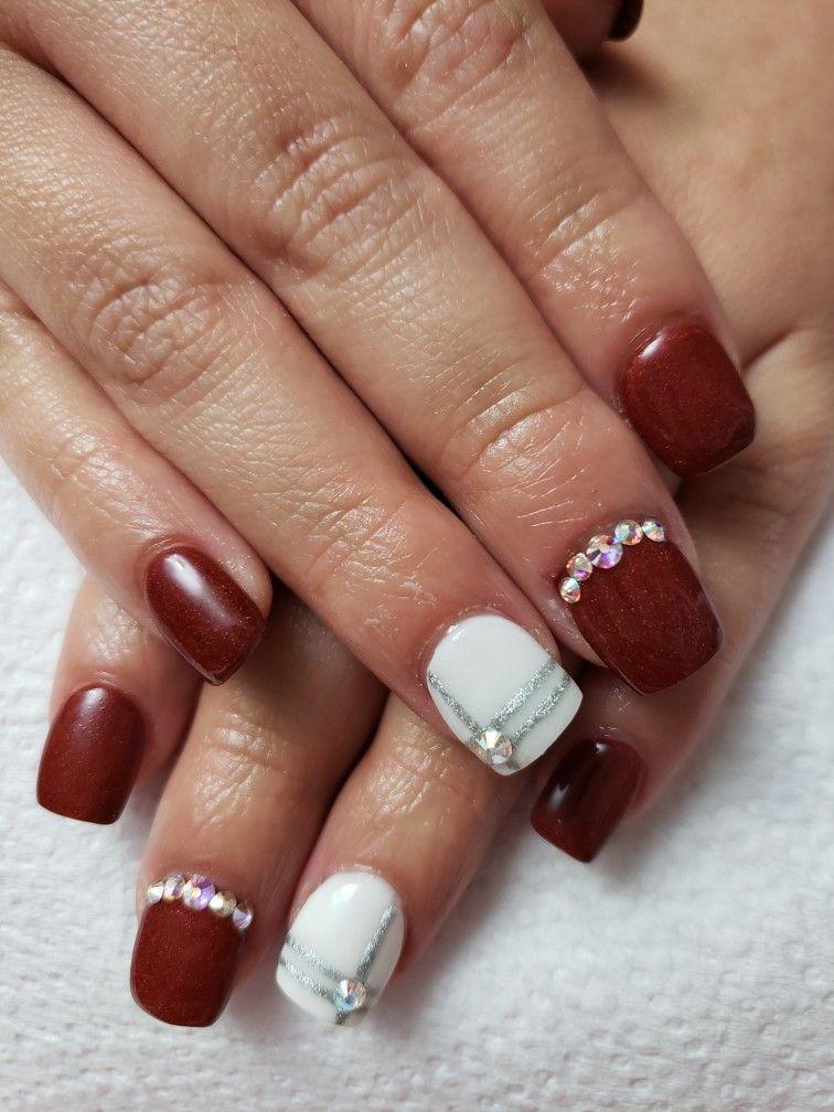 Stars and chevrons!!   Nails, Gel polish, Acrylic nails