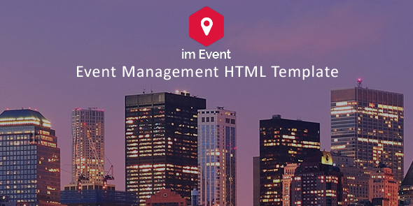 Event Management HTML Template (Business) Download #booking ...
