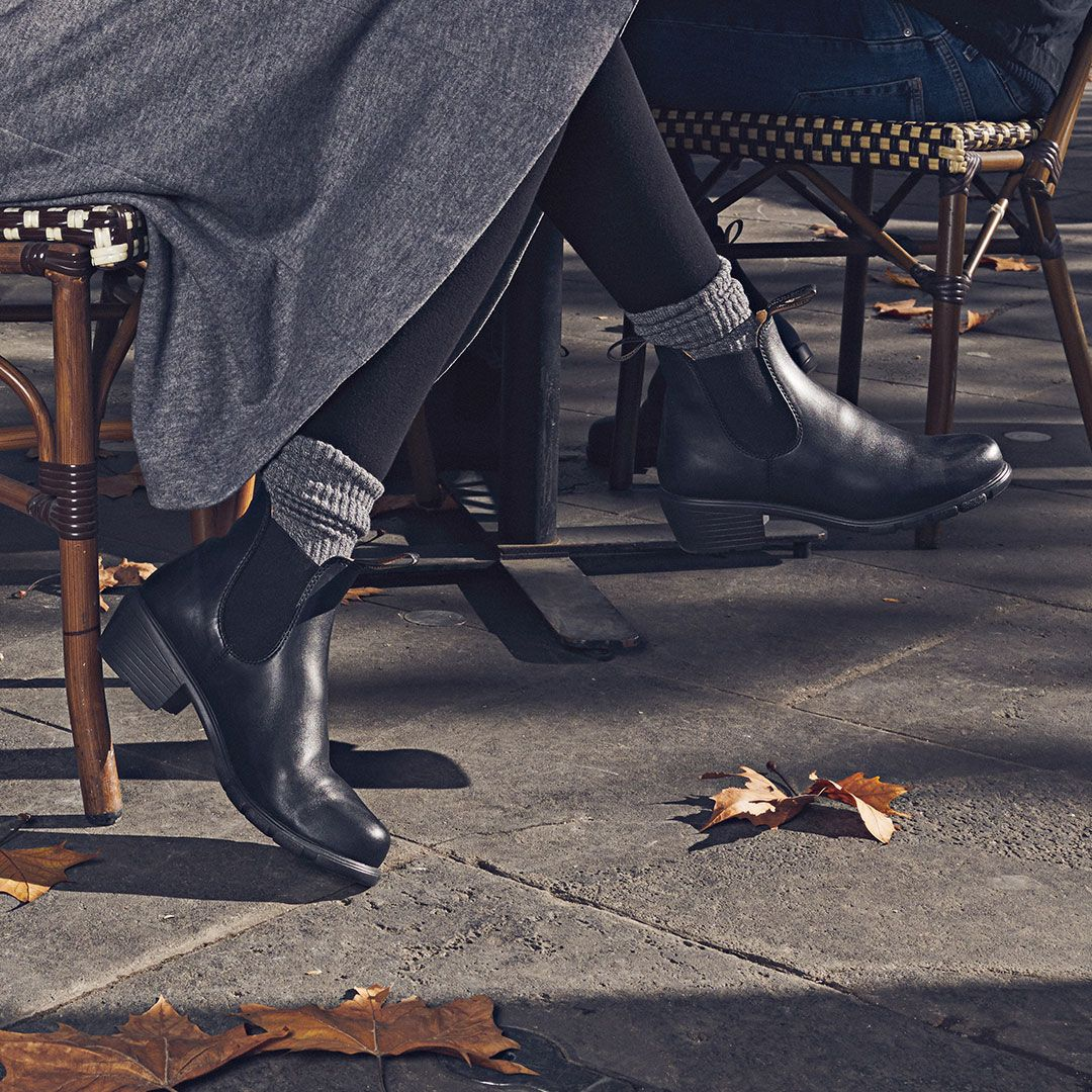 5317f9d77589 Shop Women s BLUNDSTONE 1671 Heel Boot in Black at Becker Shoes