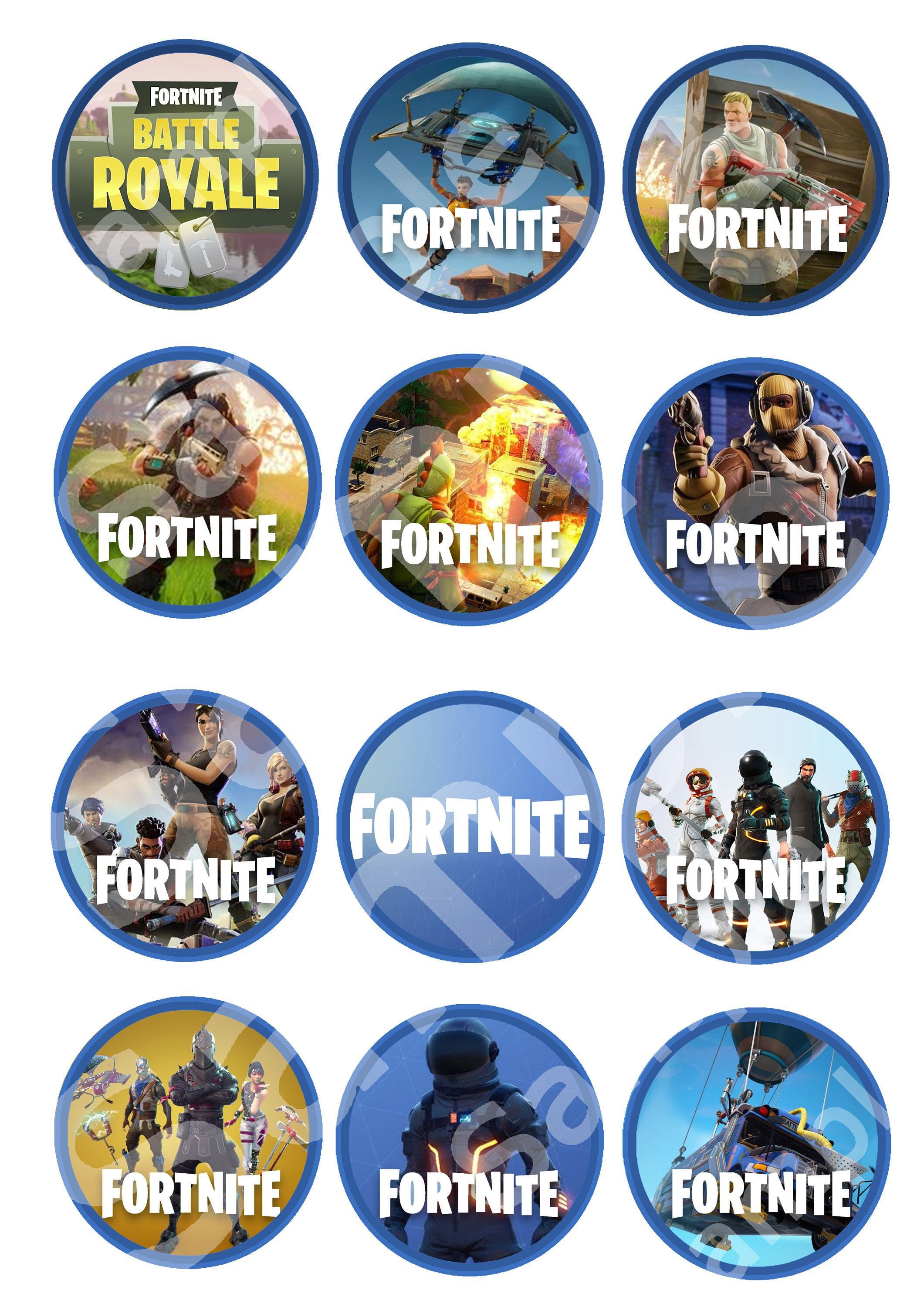 1 cupcake Royale at my etsy shop Fortnite Downloadable