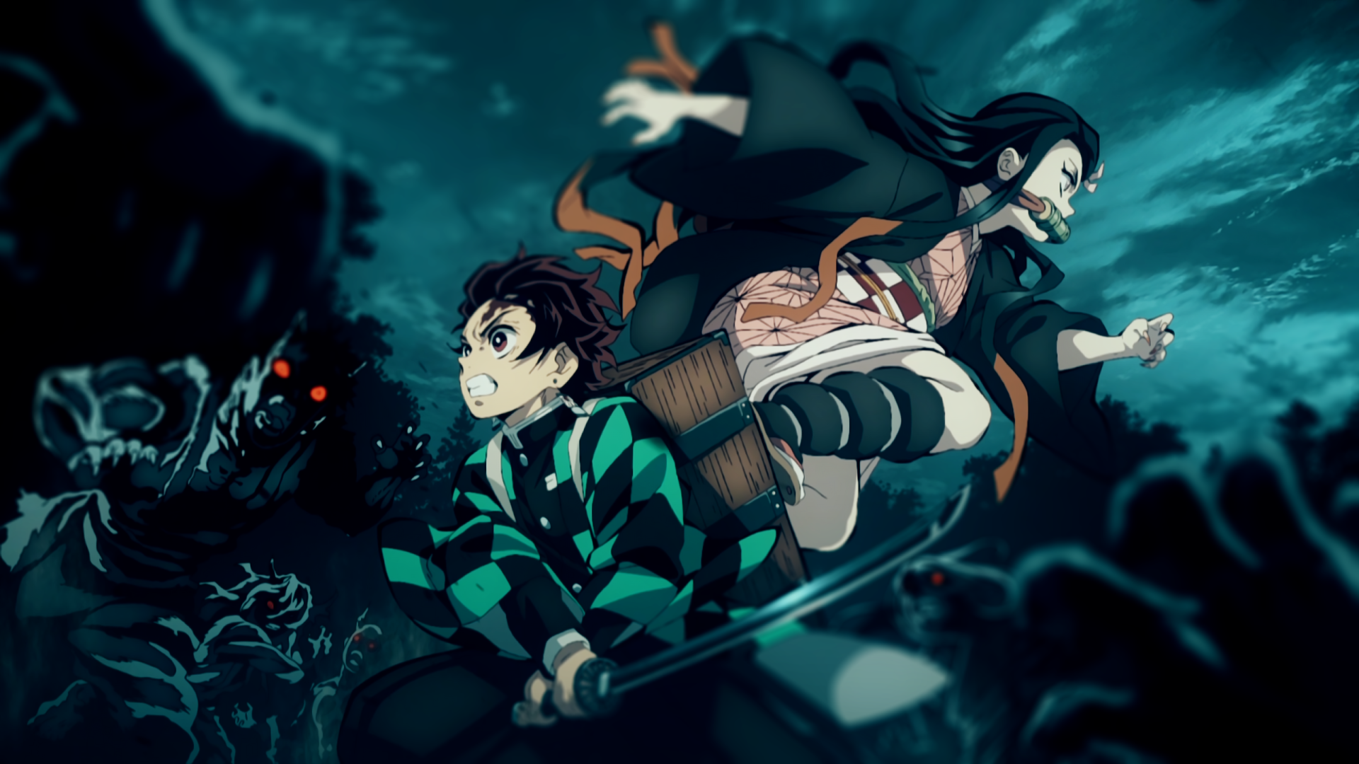 Tanjirou And Nezuko Anime Demon Slayer Kimetsu No Yaiba Wallpaper