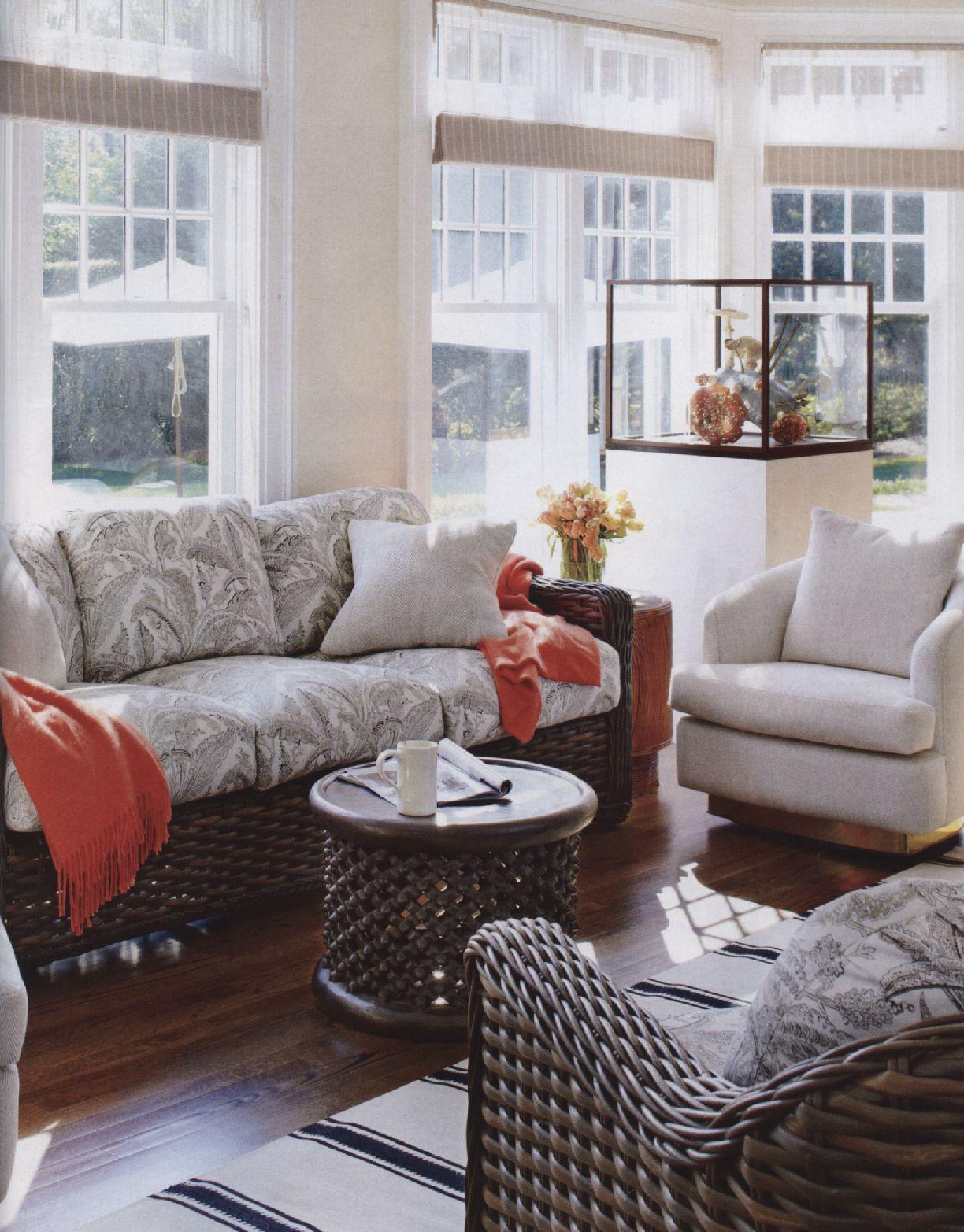 House Beautiful, page 111 Kravet, Sofa & Chair Fabric