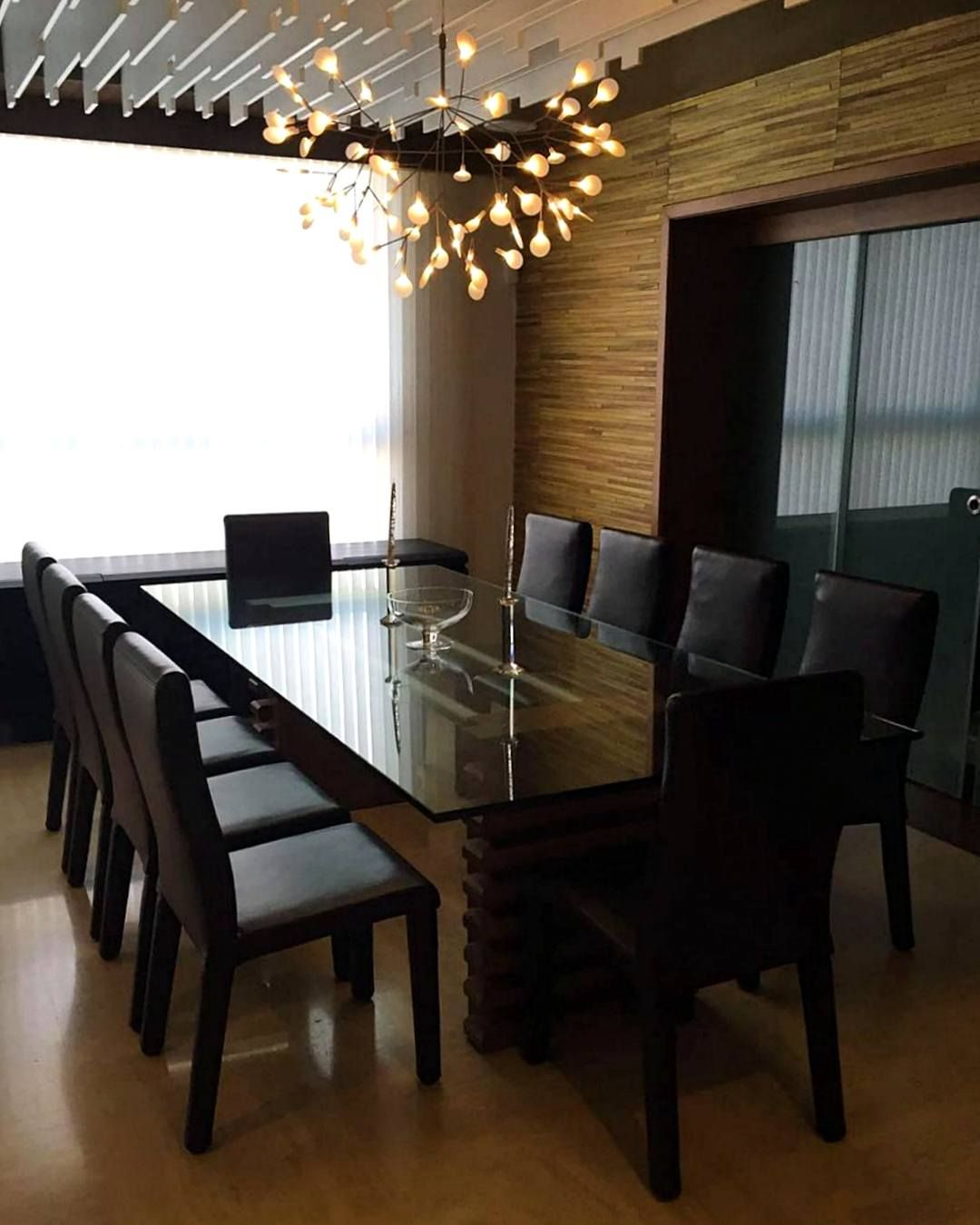 Contemporary furniture abatara dining set zientte houston