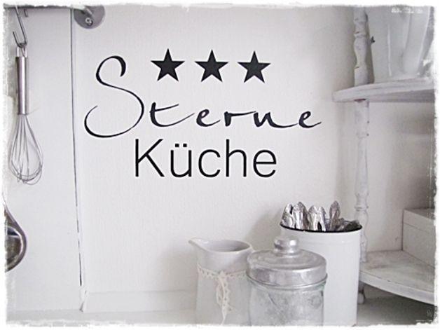 wandtattoo / möbeltattoo sterne küche, shabby chic   products ... - Küche Shabby Chic