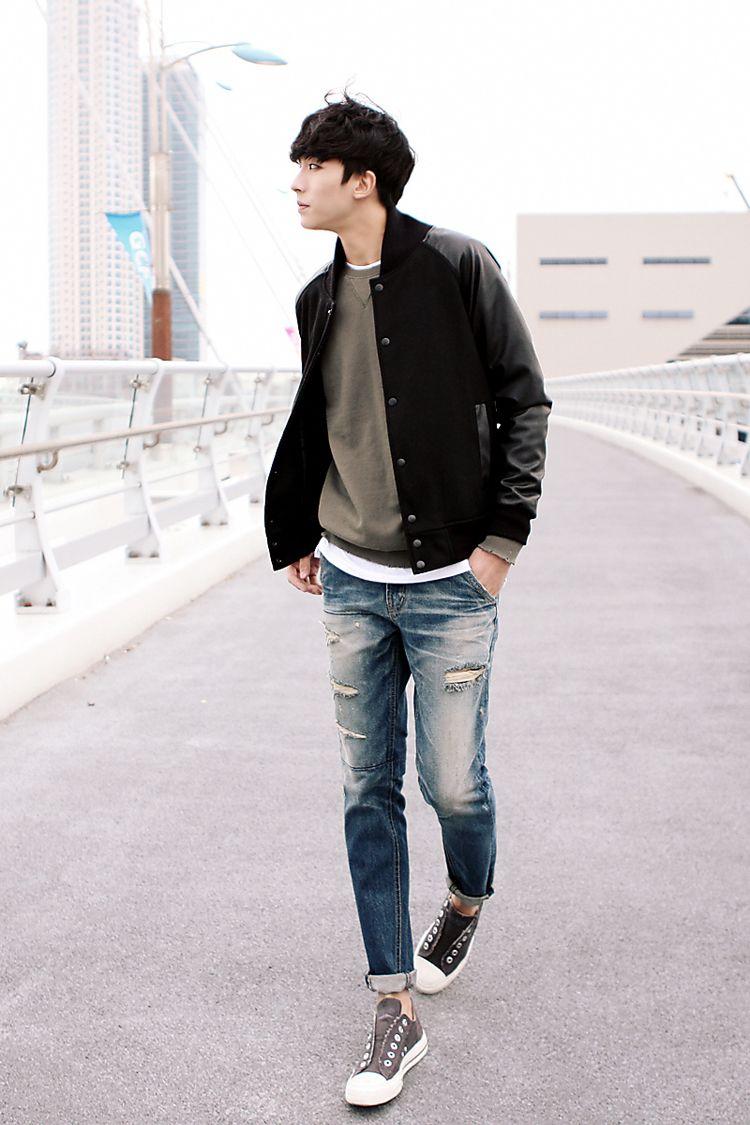 ItsmeStyle  Asian men fashion, Mens street style, Korean fashion