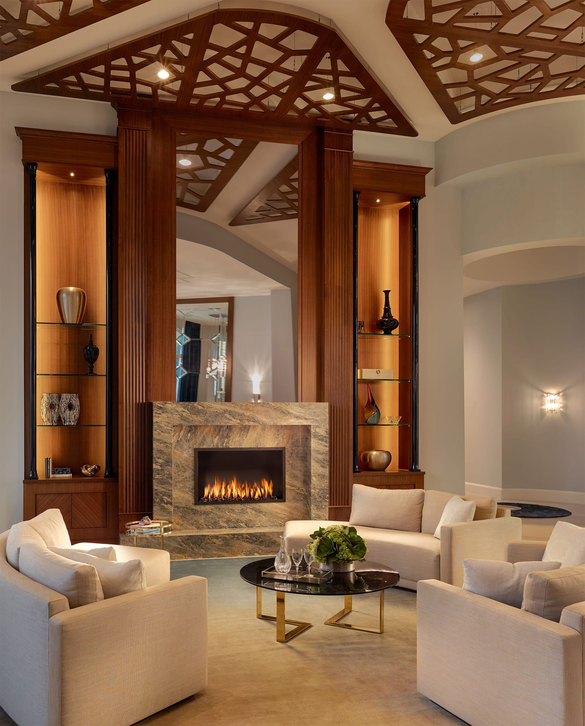 Boca Raton Transitional Interiors By Steven G