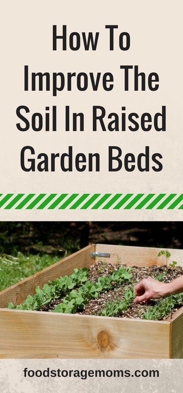 How To Improve The Soil In Raised Garden Beds Garden
