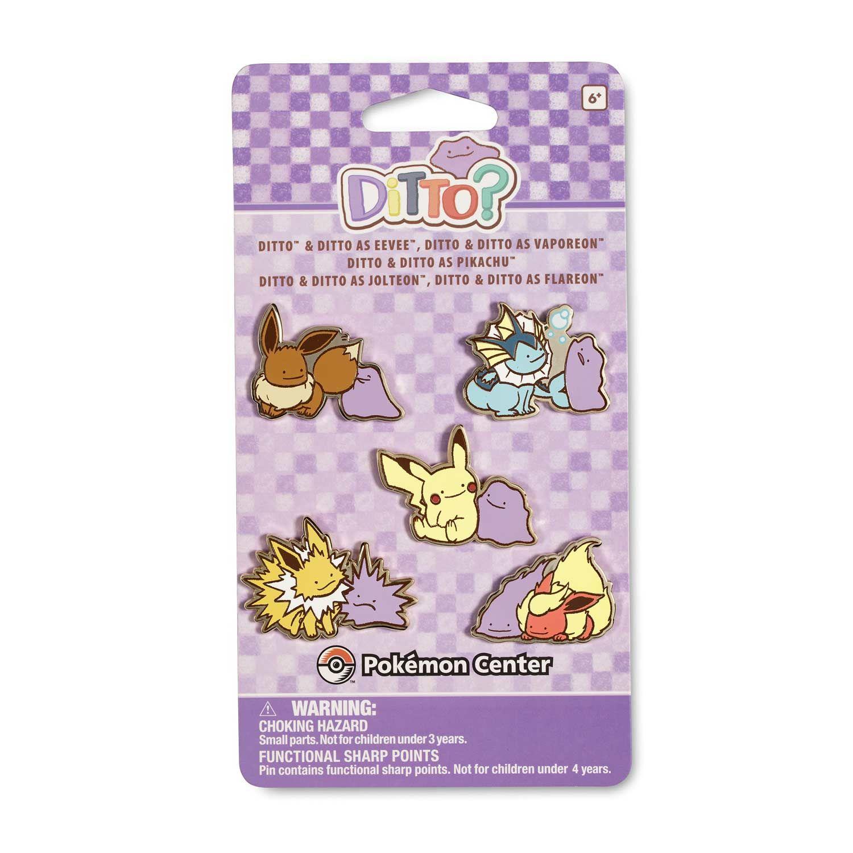 Pokemon Center Original POKEMON DOLLS Pin badge Jolteon Pins From Japan