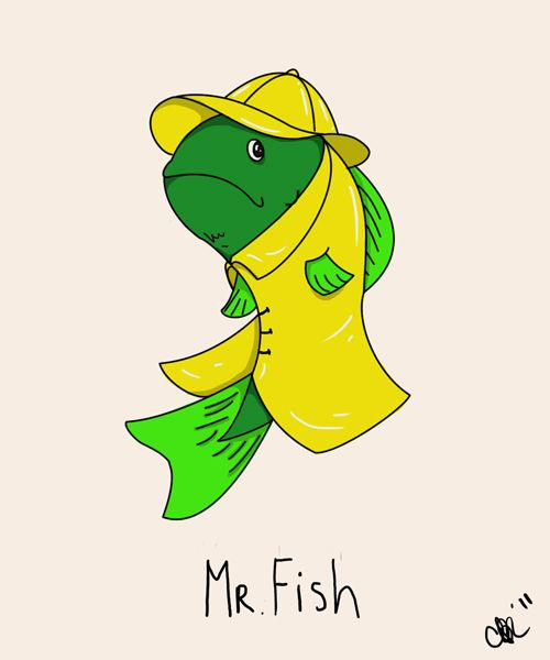 fish wearing clothes - Google Search | Silly animals, Fish, Fictional  characters