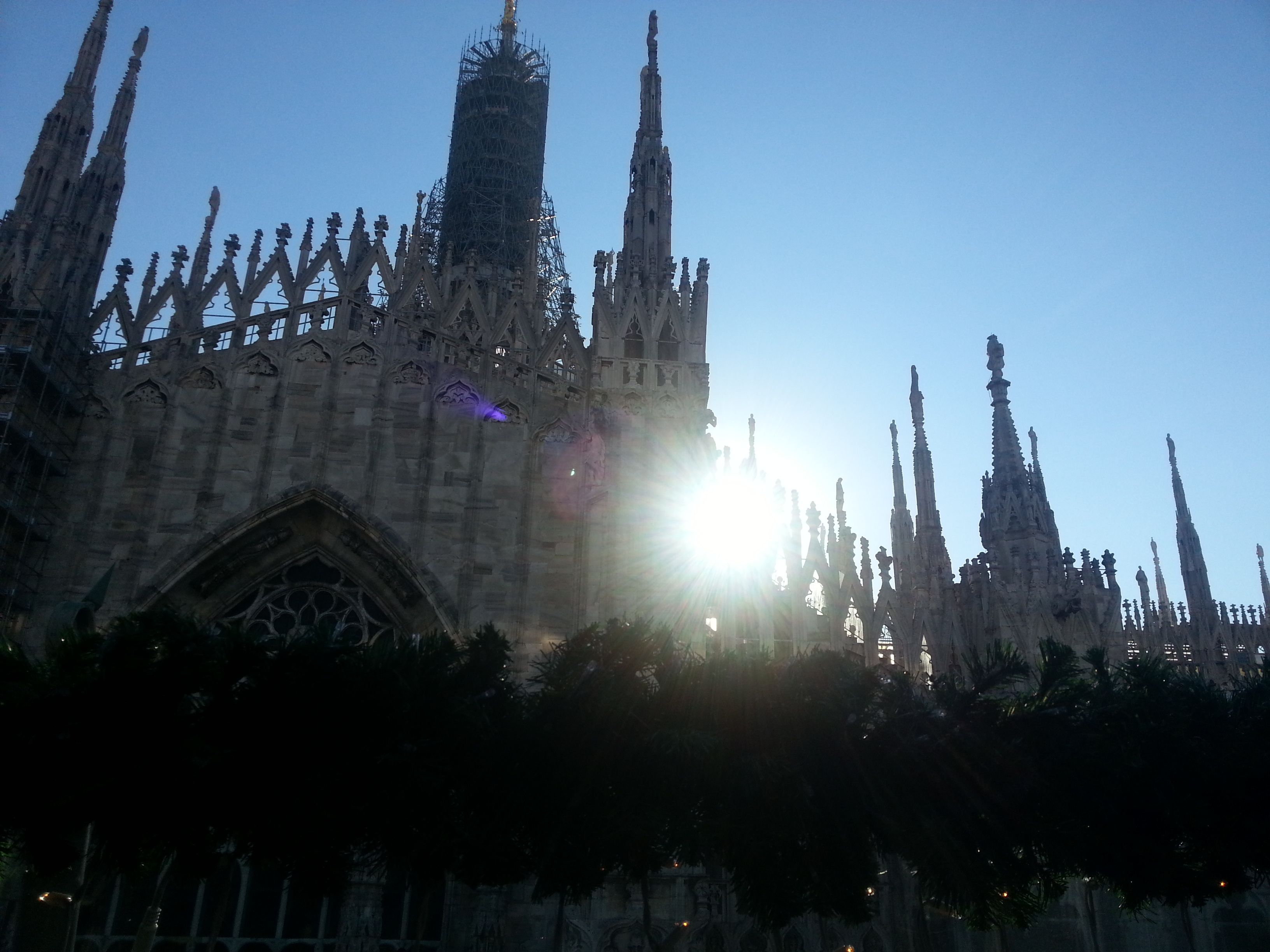 Milano Italia Milano Italia Duomo Terrazzo Rinascente