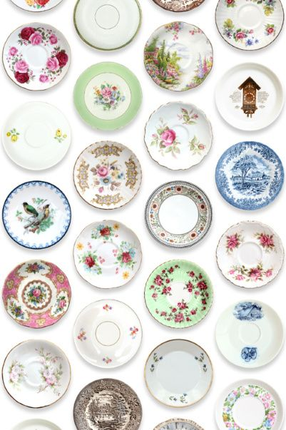 saved in my pictures can copy individual dishes and glue onto buttons - - for doll dishes