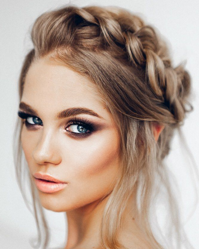 11 Beautiful milkmaid braid updo hairstyles that never go out style ...