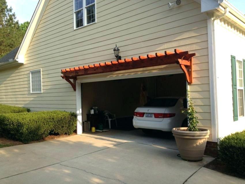 over garage pergola kit - Google Search | Garage pergola ...