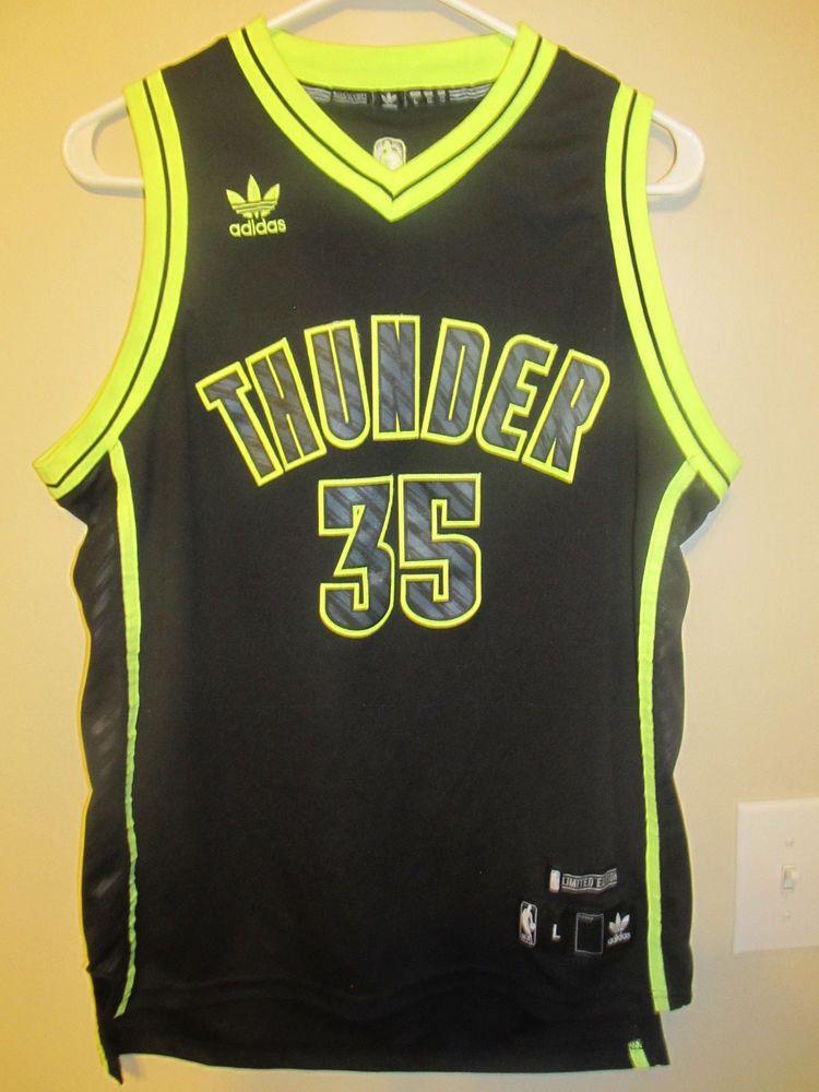 finest selection 1de27 2fc40 Kevin Durant - Oklahoma City Thunder Neon jersey - Adidas ...