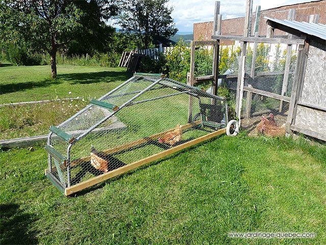 comment construire un poulailler mobile ou tracteur poules en utilisant la structure d 39 un. Black Bedroom Furniture Sets. Home Design Ideas