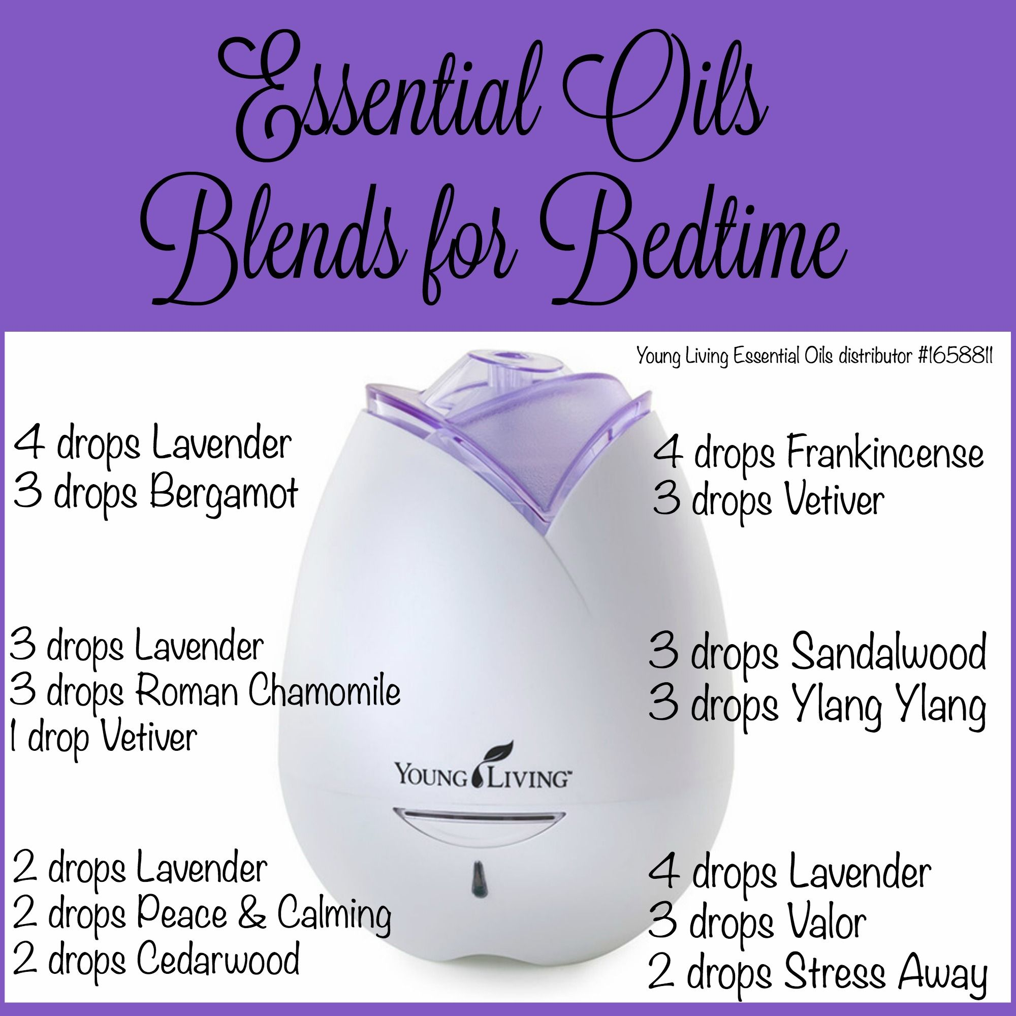 Nighttime Essential Oil Blends For Bedtime Our Piece Of