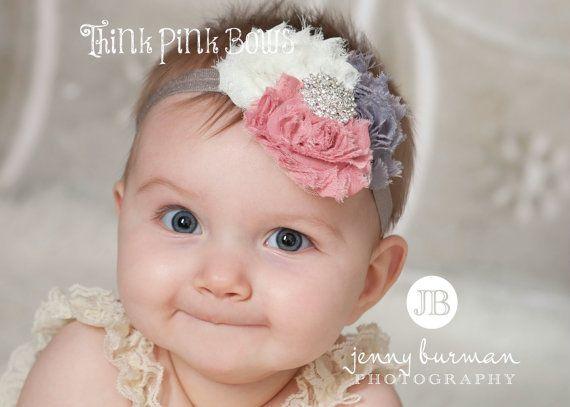 Princesse fleur enfant Strass Serre-tête Bébé Fille Fleurs Bandeaux