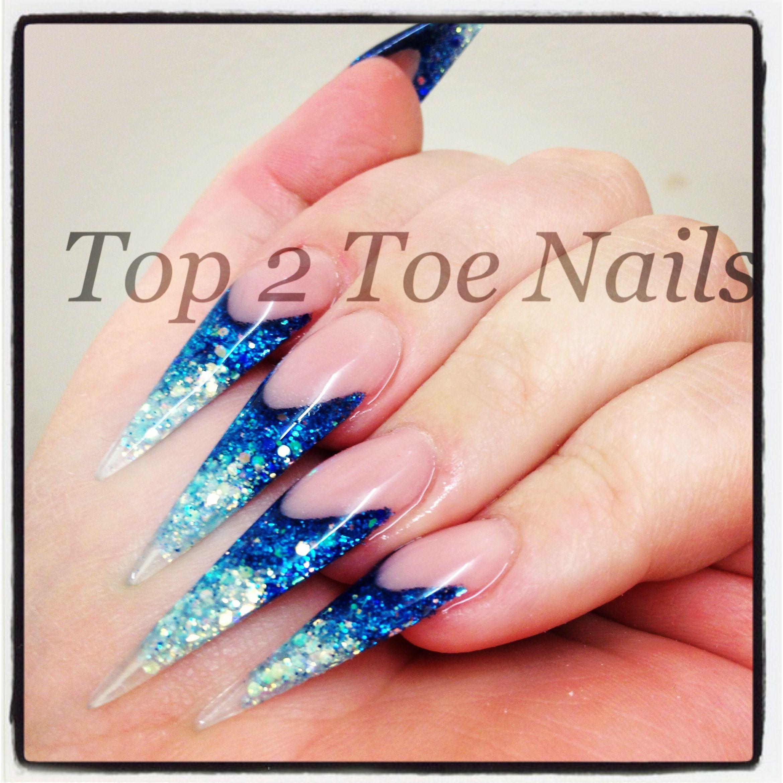 Stiletto ice queen nails. Xx   Nails   Pinterest