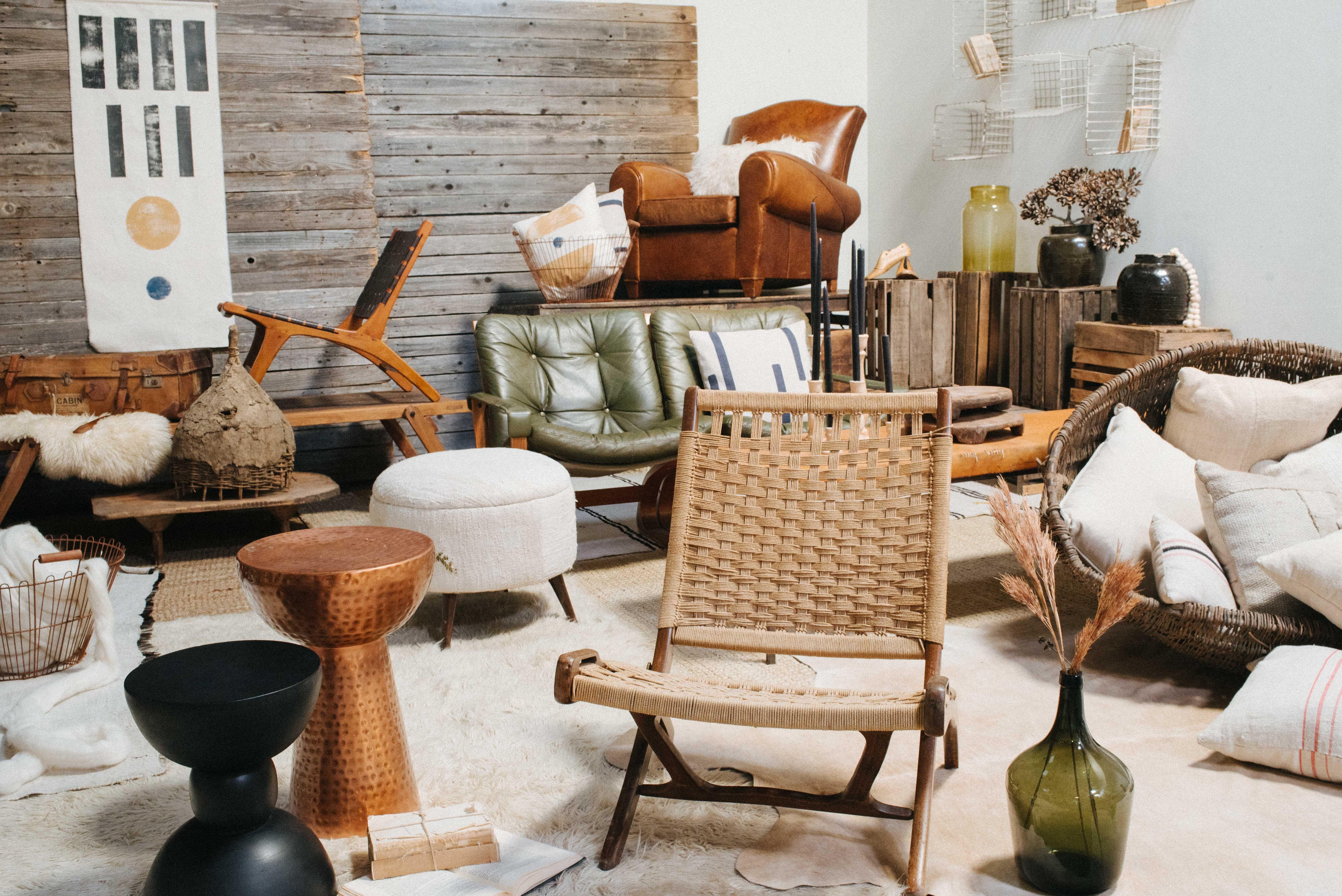 Scandi Primitive Warm Functional Loot Rentals Austin Texas Scandinavian Furniture Minimal Design Home Decor