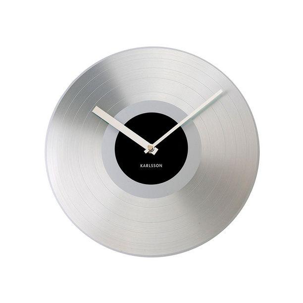 Wanduhr Platinum Record