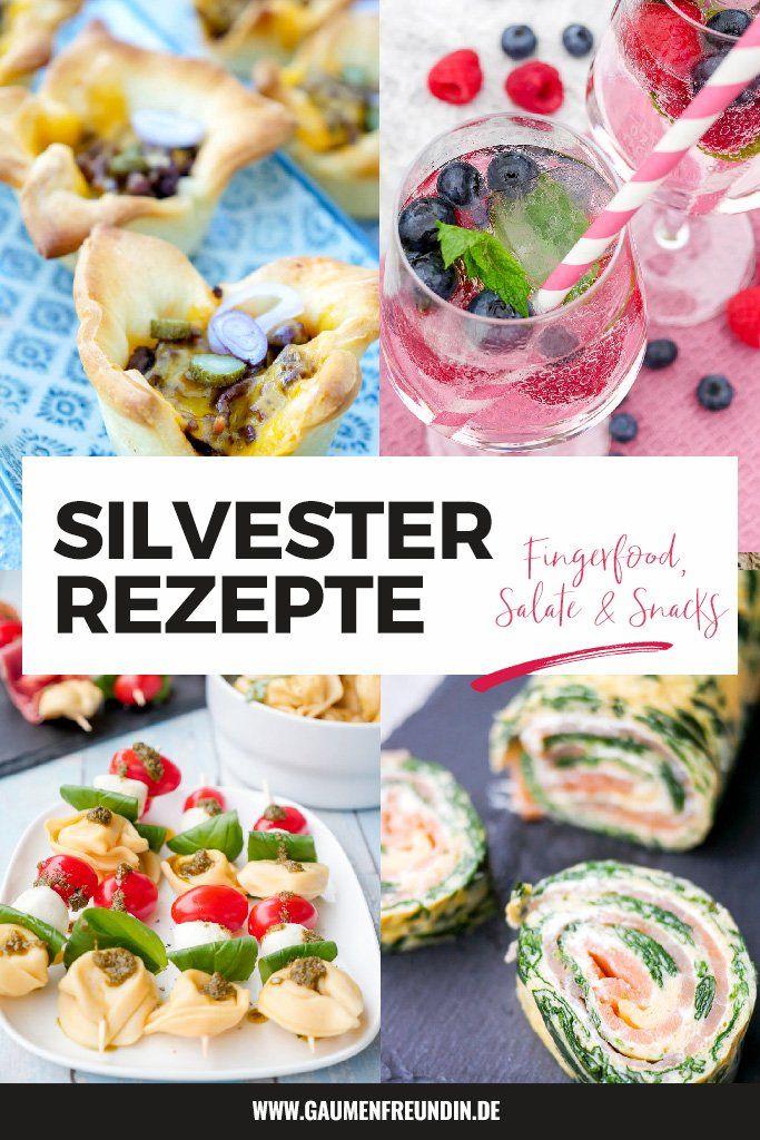 Meine besten Silvester Rezepte - Fingerfood, Salate und Cocktails