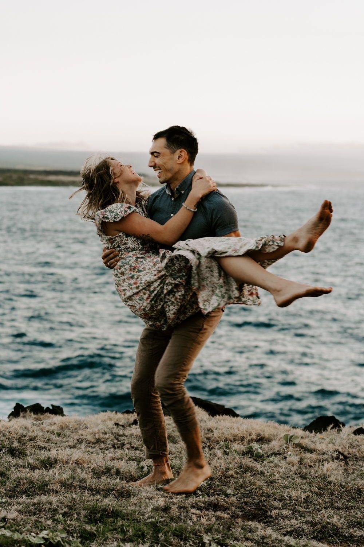 Couples Adventure Session With Courtney Sebastian On The Big Island Hi Aloha Zoe Photography Elopement Photographer Adventure Couple Couples
