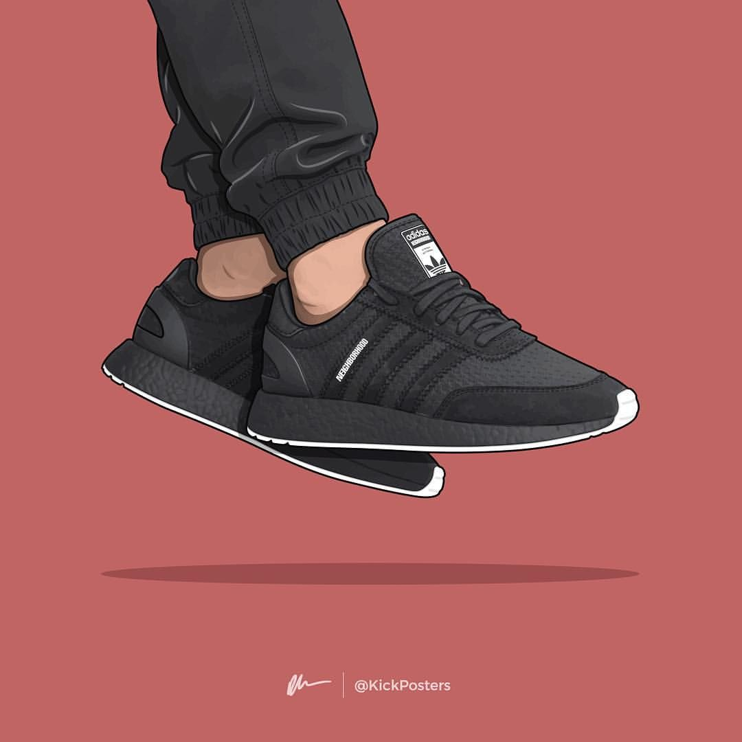"""Dan Freebairn (KickPosters) on Instagram: """"NBHD i-5923 (Iniki) 💀 Who's copping a pair? Comment below!?...💬👇🏻 — Rumoured to release later this month alongside three other models, it…"""""""