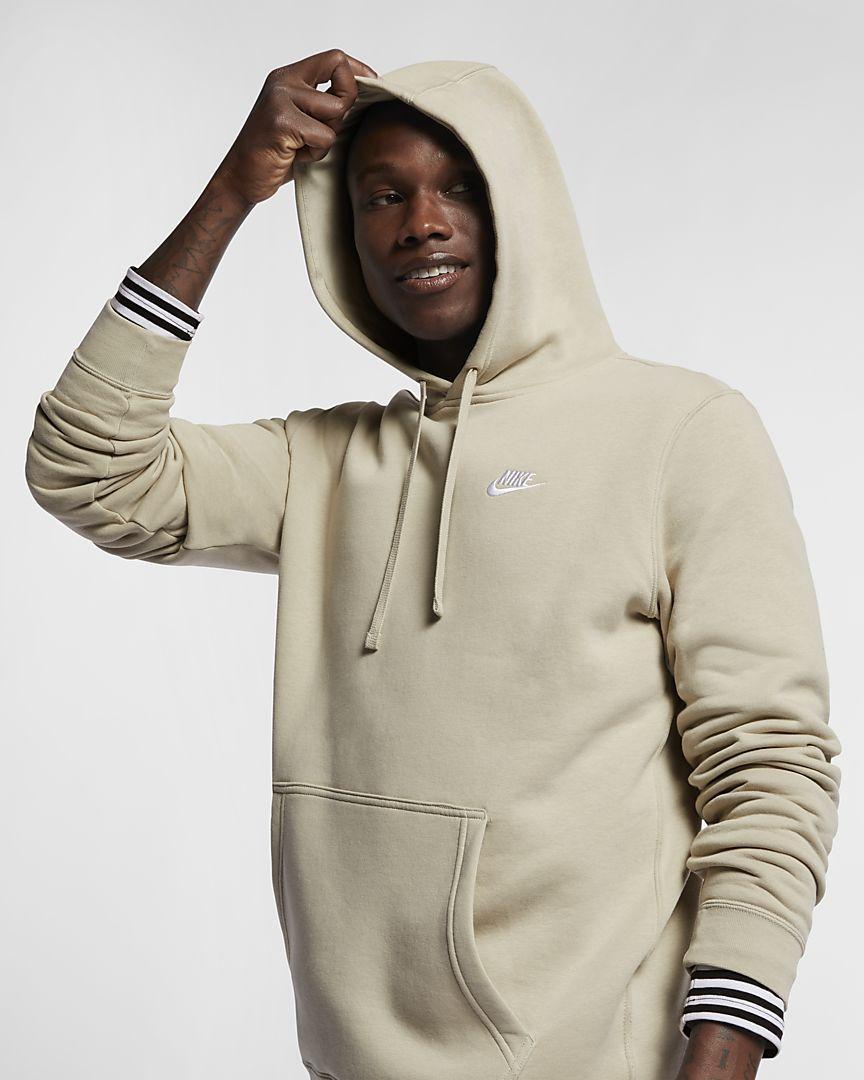 NIKE Men/'s Club Fleece Pullover Hoodie Hooded Sweatshirt Authentic NEW