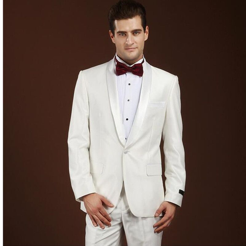 Free Shipping] Buy Best High quality custom men\'s fashion groom suit ...