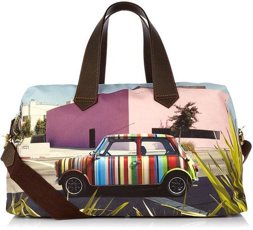Paul Smith Los Angeles Clothing | Paul Smith Mini Cooper Los Angeles Overnight Bag