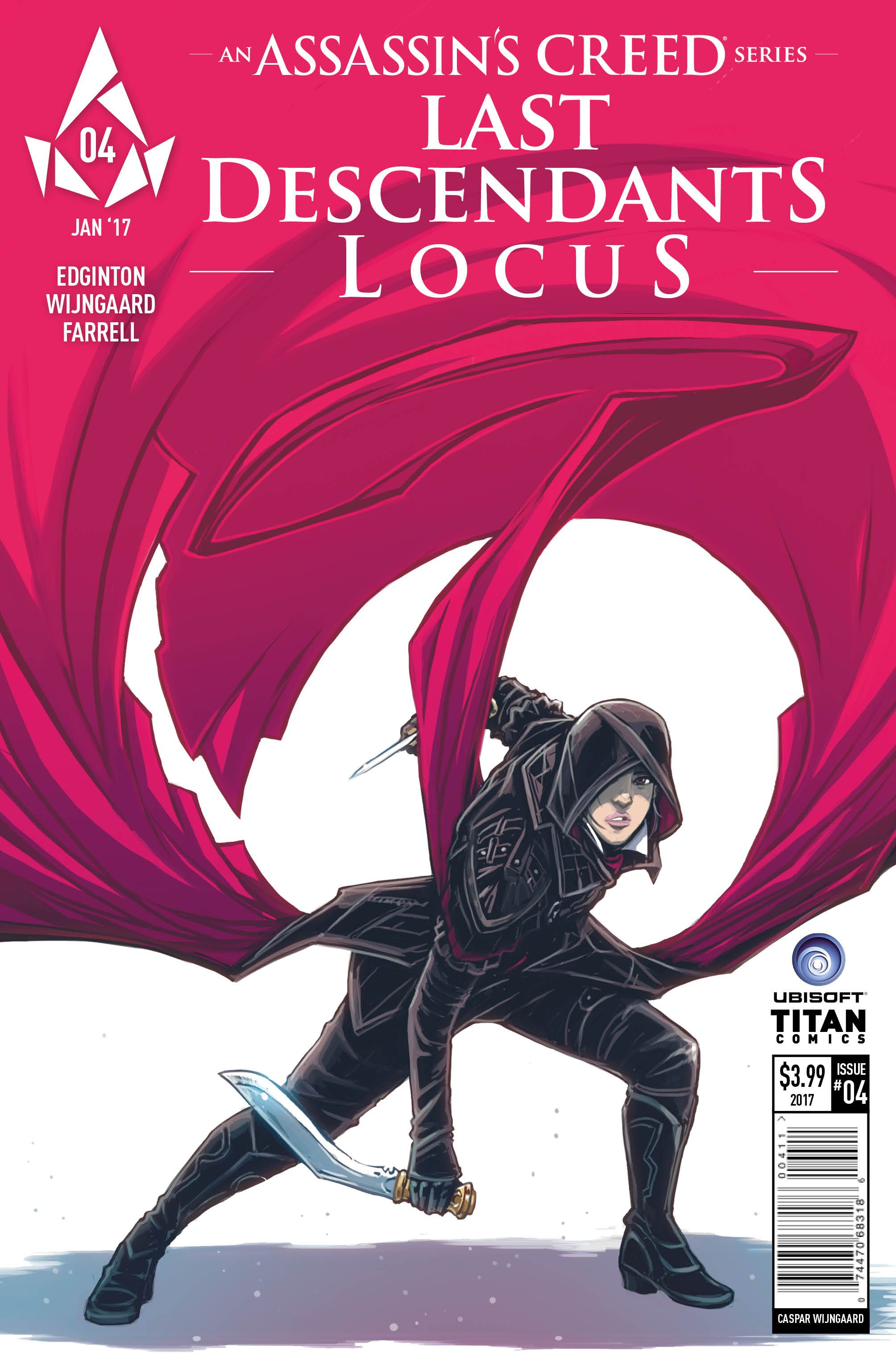 Assassin S Creed Last Descendants Locus Issue 4 Comic Review