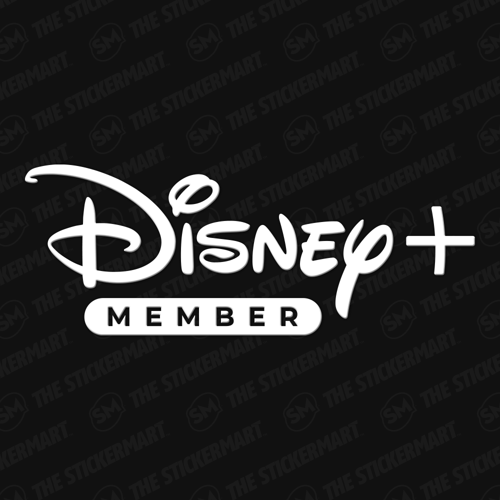 Disney Plus Member Logo Vinyl Decal Vinyl Decals Disney Plus Vinyl