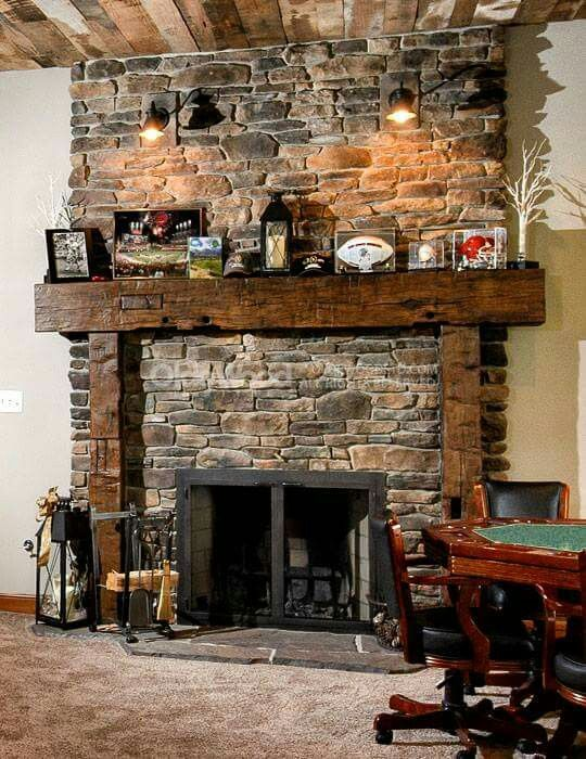 Olde Wood Offers The Premium Reclaimed Barn Beam Fireplace Mantels, Custom  Cut From The Finest Barn Beams In The Country And Ready To Install.