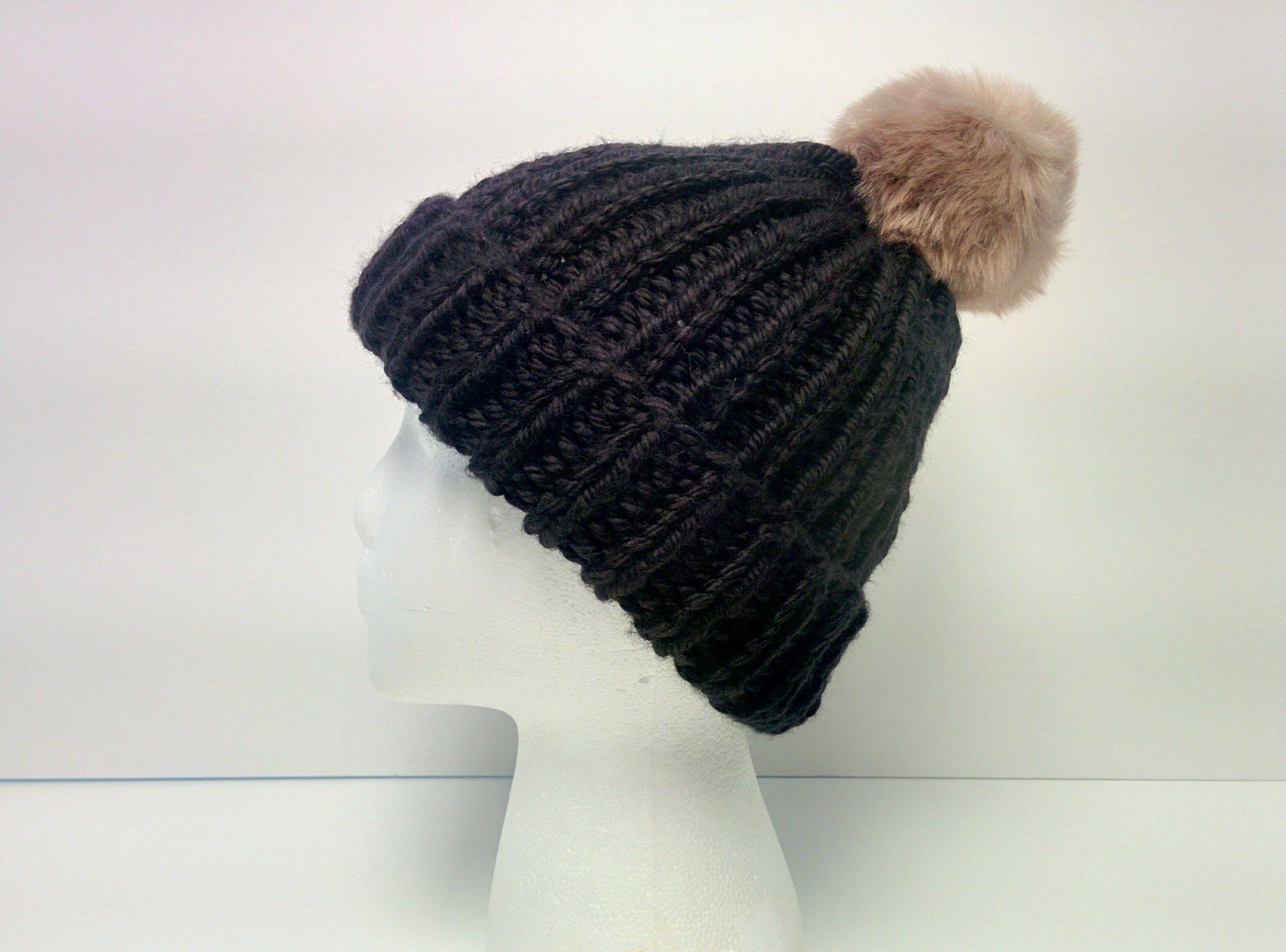 Marley Beanie: 1-Hour Free Beanie Knitting Pattern | Knit crochet ...