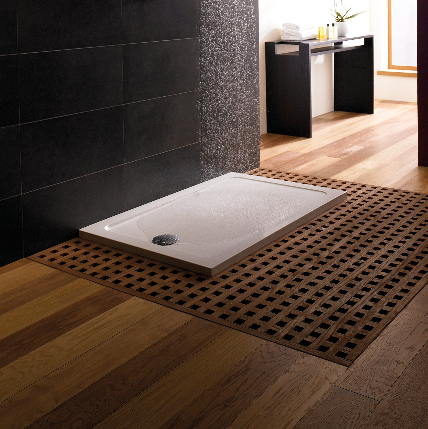 Mira Flight Low Profile Rectangular Shower Tray 1200 X 760mm With Waste Shower Tray Wet Rooms Shower