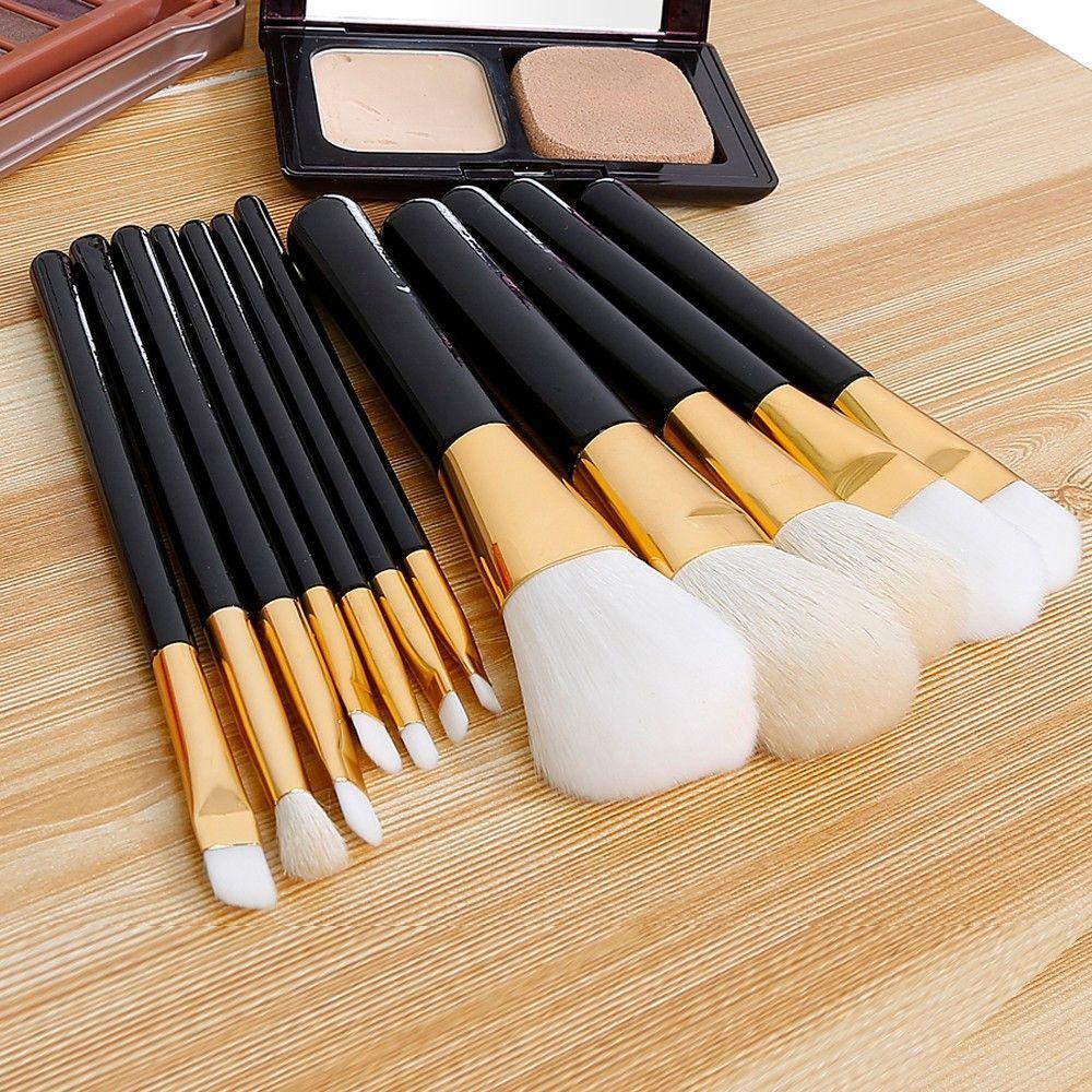 12 Pcs/kits Professional Cosmetic Makeup Brush Set