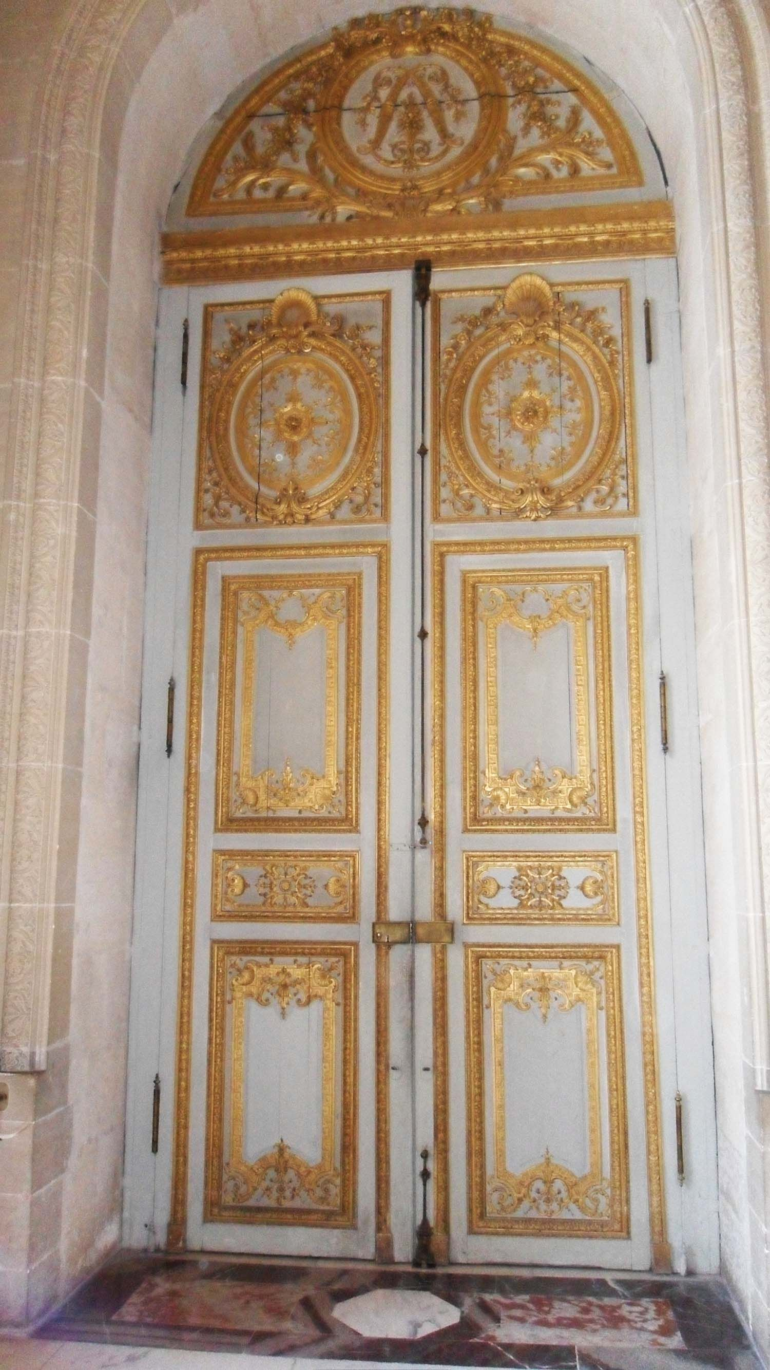 The Palace Doors Of Versailles Doors Doors Armoire