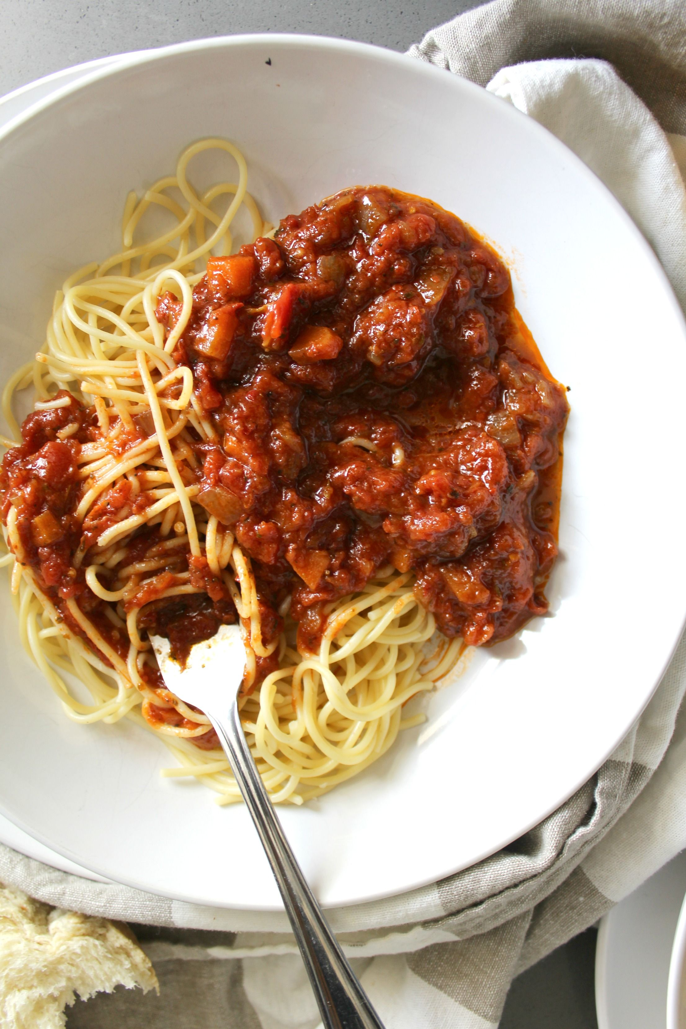 Vegan Sunday Sauce Recipe Sunday sauce, Food, Healthy